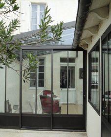 Veranda Toit Plat Design | Veranda Facon Atelier