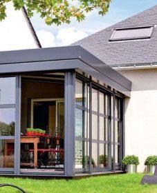 Sas veranda en kit ou veranda mobile condominio