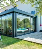 Veranda Contemporaine Alu Prix Par Veranda Escamotable