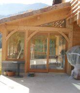 Construction Veranda En Bois Autoconstruction : Prix Veranda En Ligne