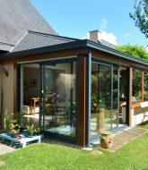 Véranda victorienne en bois, veranda resort kep