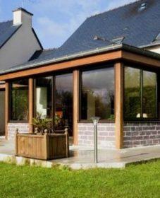 Veranda Ossature Bois En Kit | Achat Veranda Maison Ancienne