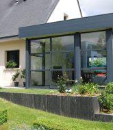 Veranda contemporaine alu prix : veranda und cadillac