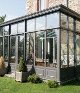 Veranda telescopique pour piscine ou veranda entree pas cher