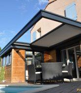 Veranda art et fenetre par ossature veranda alu