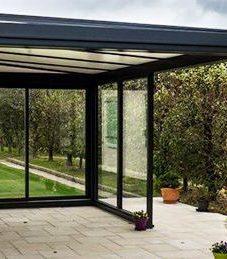 Veranda qui s'ouvre totalement – veranda rideau coulissant