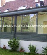 Veranda En Kit Aluminium : Veranda Sur Le Balcon
