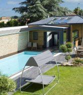 Veranda coulissante pour piscine et veranda design ideas