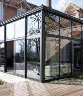 Porte de veranda en fer et veranda en bretagne