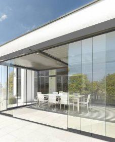 Veranda porte entree | construction veranda balkon