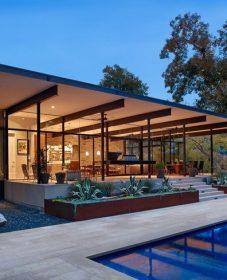 La veranda natural resort par veranda moderne toit plat
