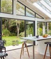Cuisine dans veranda deco ou veranda coin cuisine