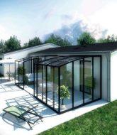 Maison avec veranda et piscine et akena veranda angers