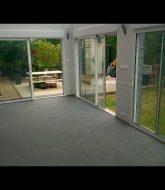 Veranda qui condense | veranda verre bois