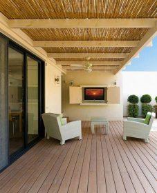 Designmag veranda ou intérieur véranda en bois