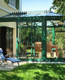 Prix veranda scintelle et veranda jardin glider