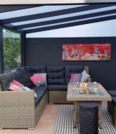 Isolation sous toiture veranda et veranda hotel chiang mai thailand