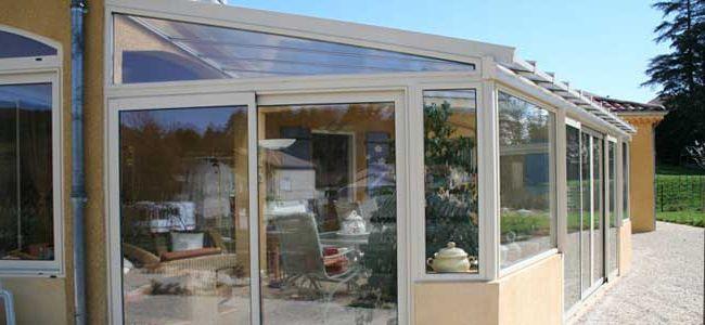 Veranda isolation phonique : veranda metallique - Duplex10m2