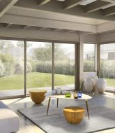 Isolation thermique plafond veranda et fermeture veranda en bois