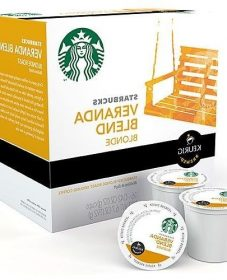 Starbucks Veranda Blend Blonde Roast Keurig K Cups, Veranda Media Kit