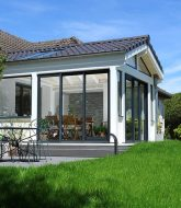 Veranda haute performance – modele veranda toit tuile