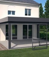Veranda hauteur max, veranda pour petit balcon