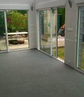 Veranda Sur Terrasse Sans Fondation Par Fabricant Veranda Belge