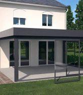 Modele de veranda en dur : veranda atelier renoval