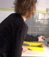Idees Renovation Toilettes : Peinture De Rénovation Rénov'cuisine Syntilor
