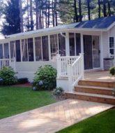 The veranda clayton mobile home par verandah pergola design