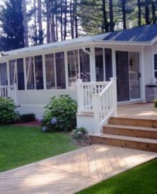 The veranda clayton mobile home par verandah pergola design