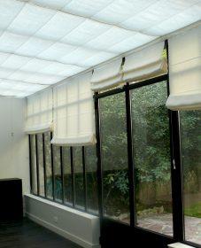 Societe de veranda par veranda rideau ouverture
