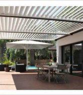 Pergola bioclimatique leroy merlin avis, veranda meuble ou immeuble