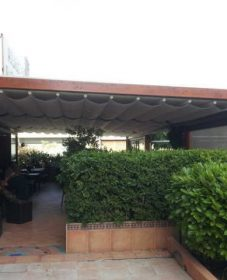 Veranda Bulle Veranda Retractable Pour Restaurant