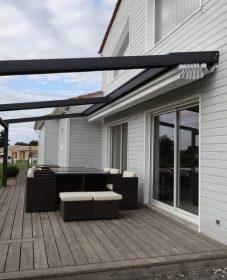 Veranda akena toit plat : mobilier de veranda castorama