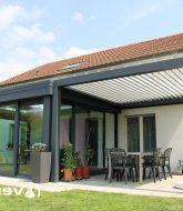 Veranda verre anti-solaire : veranda pour extension maison