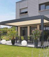Veranda en bois blanc – veranda grand baie contact