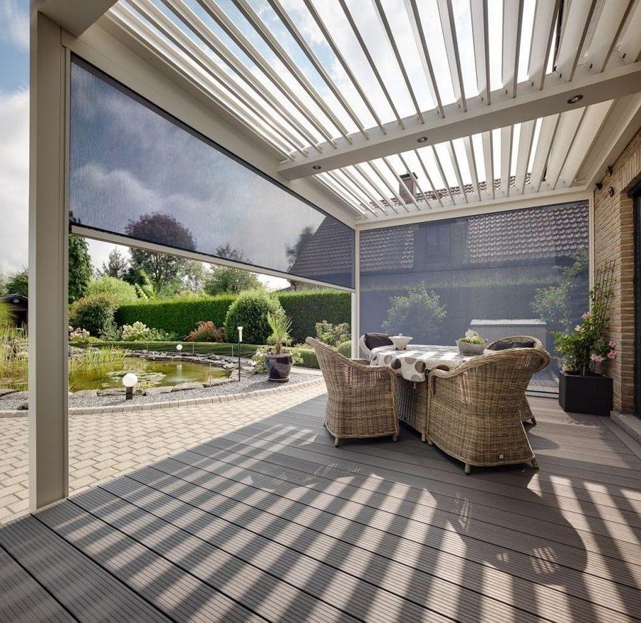 Diy glass veranda garden buildings ou biossun veranda prix - Duplex10m2