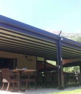 Veranda Toit En Dur : Veranda Retractable Pour Restaurant