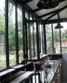 Veranda Style Atelier D'artiste, Diy Polycarbonate Veranda
