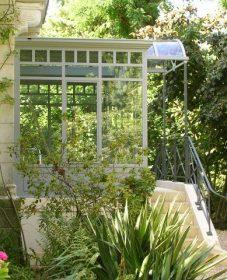 Profile veranda acier | jacuzzi in veranda