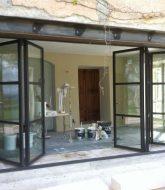 Veranda bois montpellier et porte galandage veranda