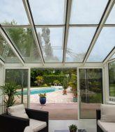 Avis veranda alu : veranda toit verre prix