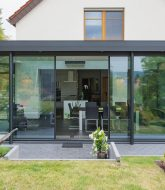Veranda amovible prix par extension veranda toit plat