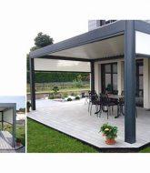 La veranda hotel norderstedt et veranda rideau pergola bioclimatique