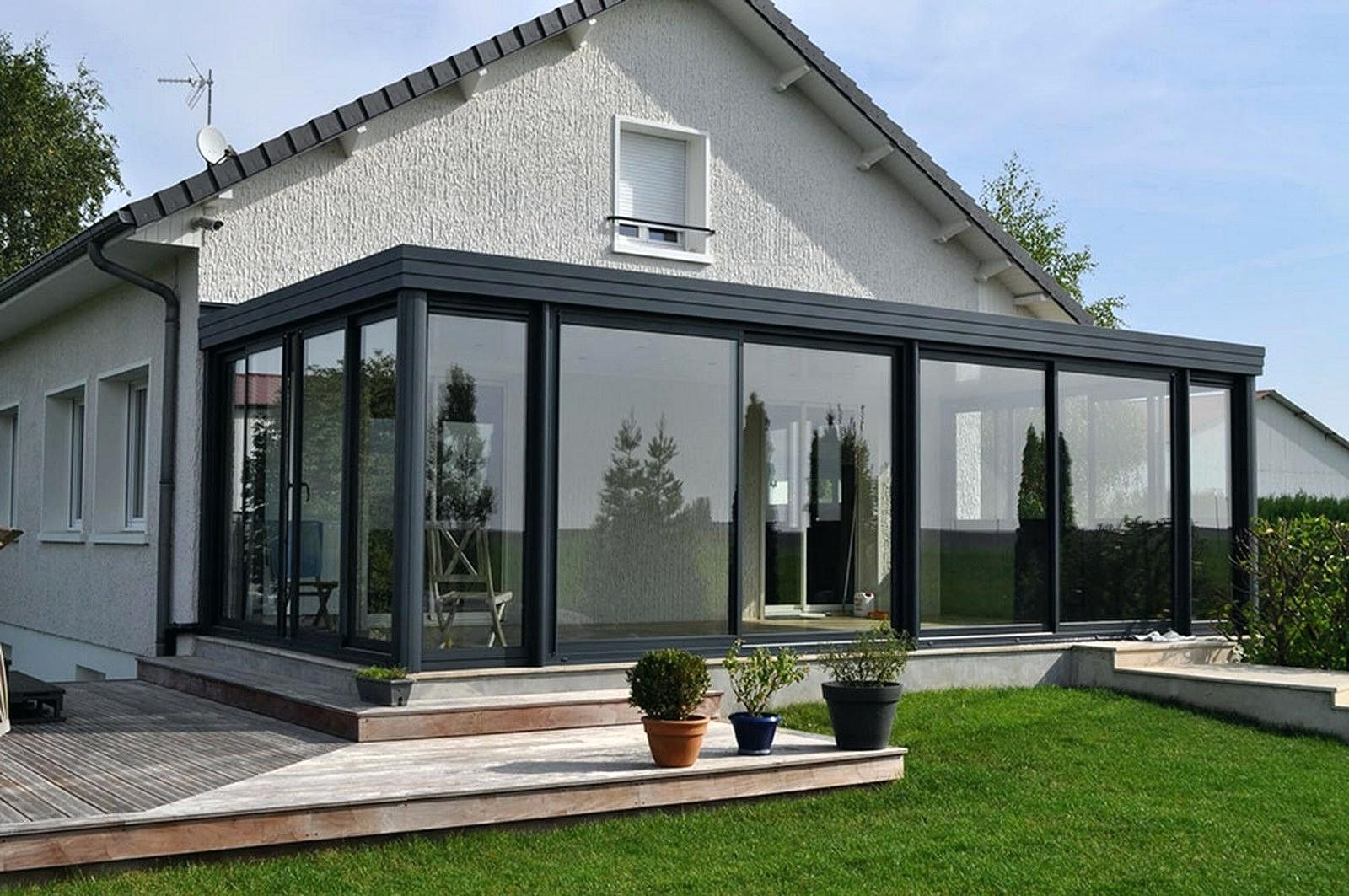 Veranda aluminium pologne et veranda victorienne pas cher - Duplex10m2