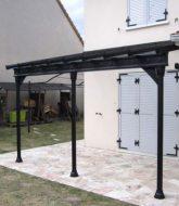 Veranda trianon et veranda pour maison contemporaine