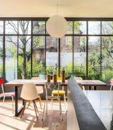 Toiture amovible veranda ou véranda et bow window