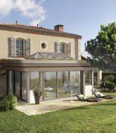 Construire veranda toit plat, veranda pointe aux biches location