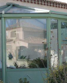 Abri De Piscine Veranda : Veranda Avec Porte D'entrée